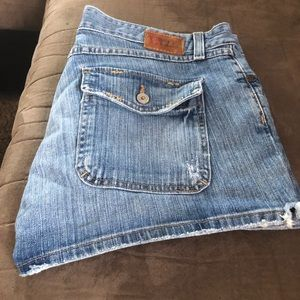 Buckle shorts